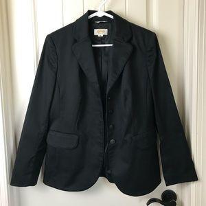 Talbots Black Blazer Size 8